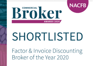 NACFB Shortlisted Finance Broker Graphic : Invoice factoring & Asset Finance from Go-Factor